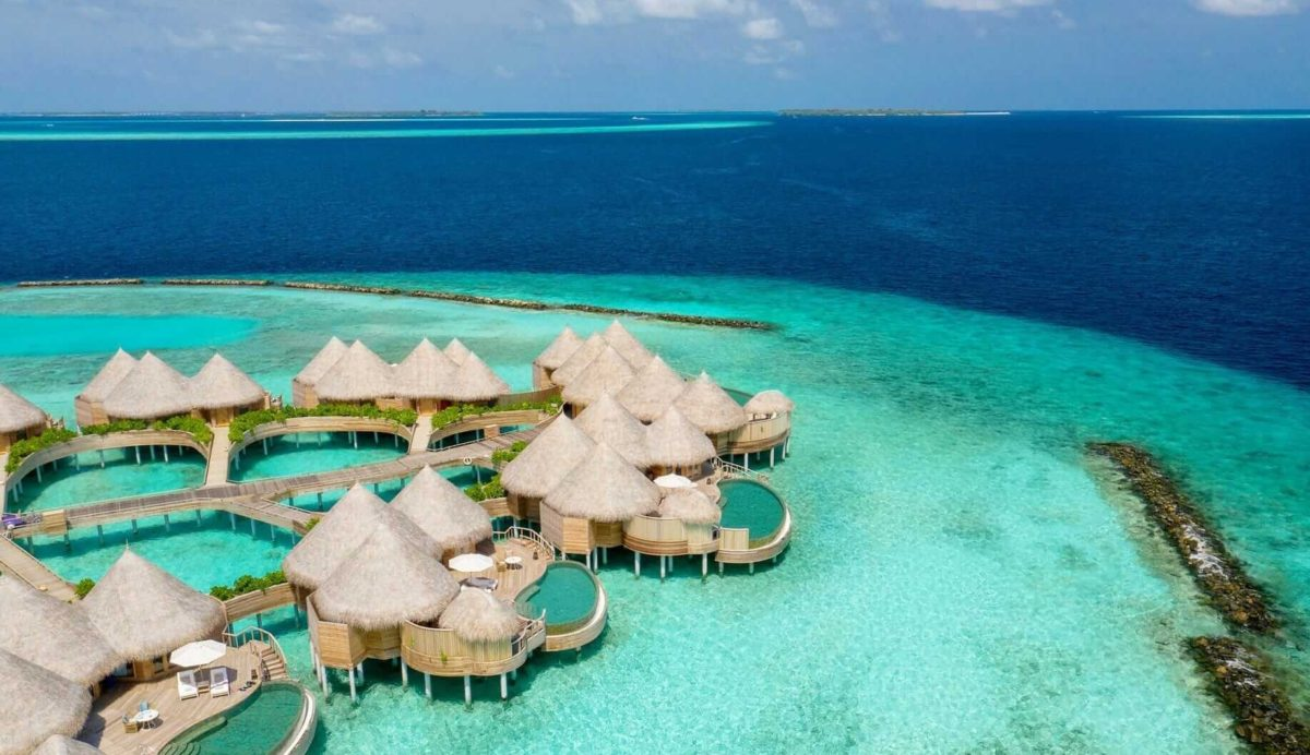 Beach Houses and Ocean Houses at The Nautilus Maldives